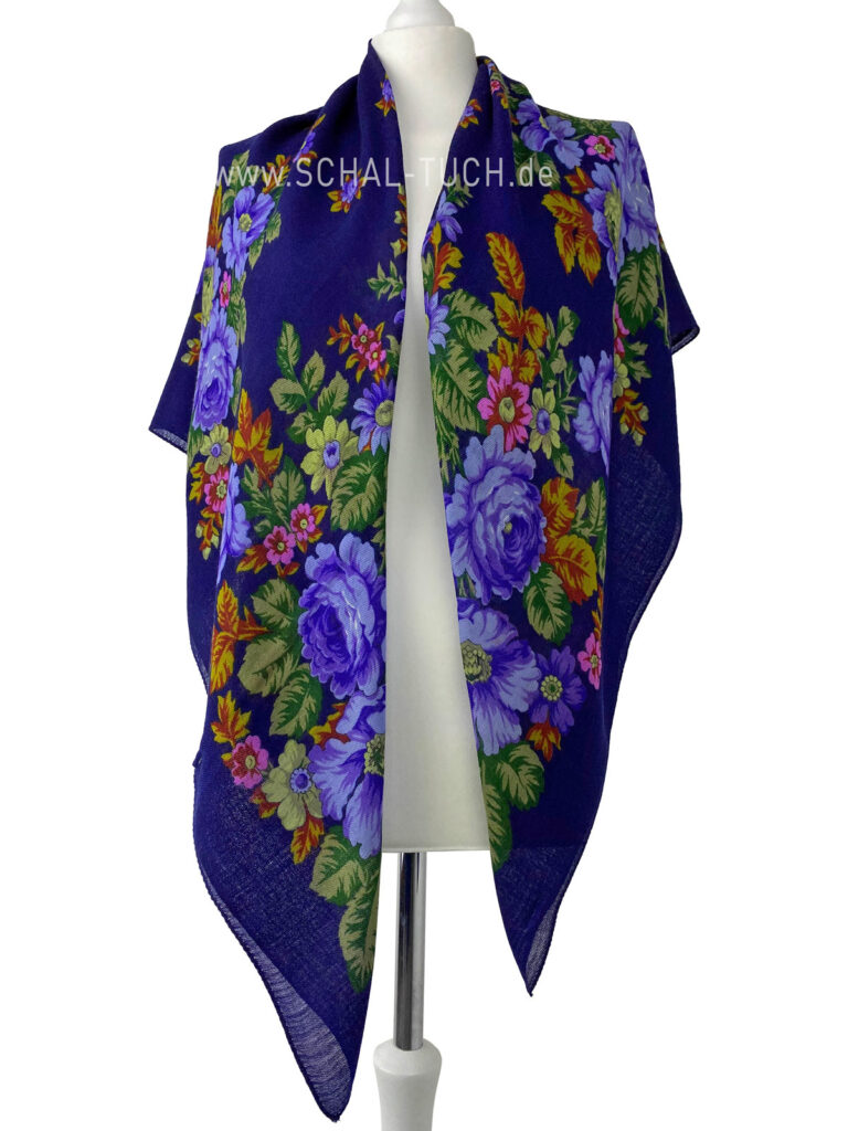 Russisches-Tuch-Russischer-Schal-Russian-scarf-shawl- foulard-russe-Le-châle-russe-scialle-russo-Pañuelo-Chalina-Rusa-Pañuelo-Chal-Tradicional-Ruso-ロシア-スカーフ